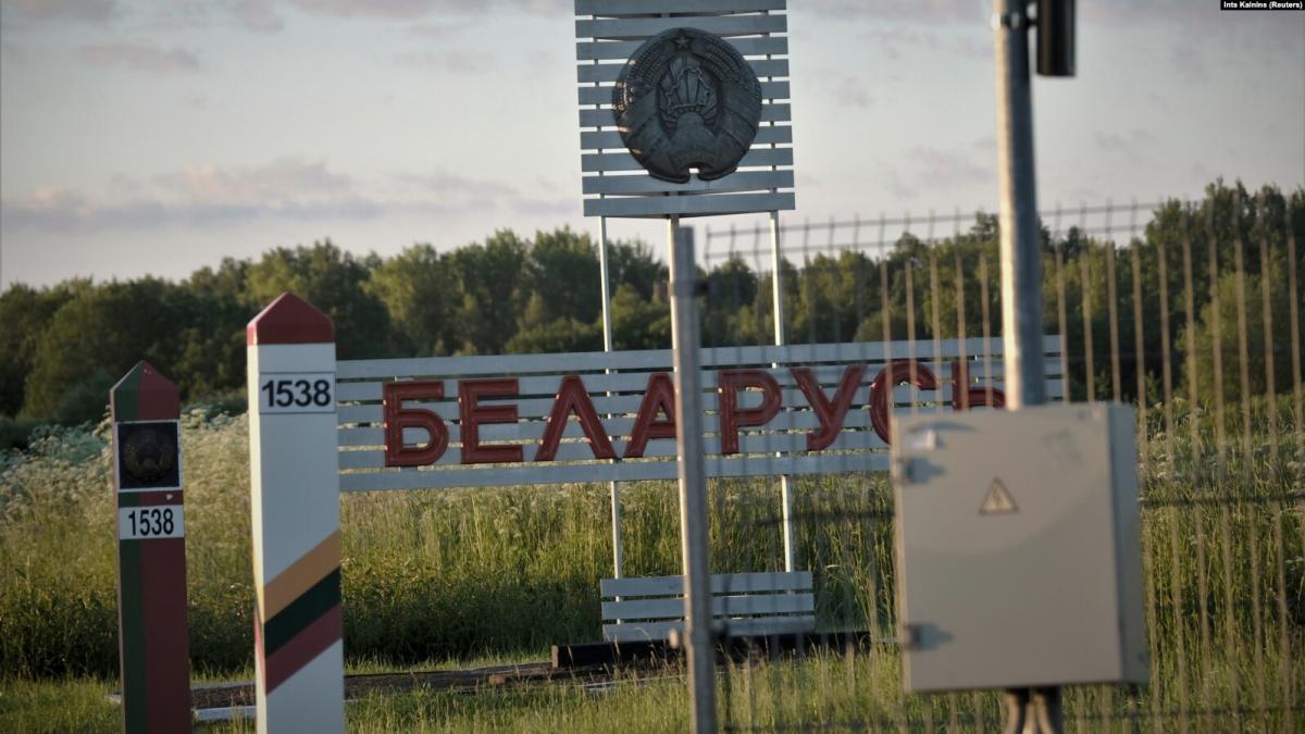 В этом году более 550 человек пытались незаконно въехать в Литву из соседней Беларуси / фото REUTERS