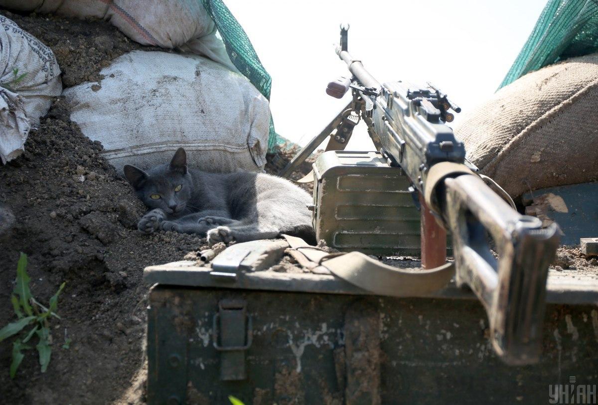 Украинские военные открыли ответный огонь / фотоУНИАН,Анатолий Степанов