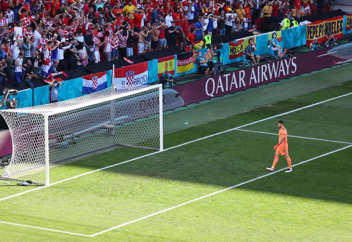 Момент з пропущеним м'ячем / фото REUTERS