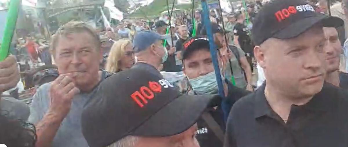 Ситуация на Майдане незалежности / Скриншот с видео