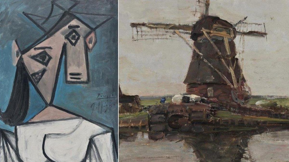 Пикассо подарил портрет женщины Национальной галерее в 1949 году / NATIONAL ART GALLERY