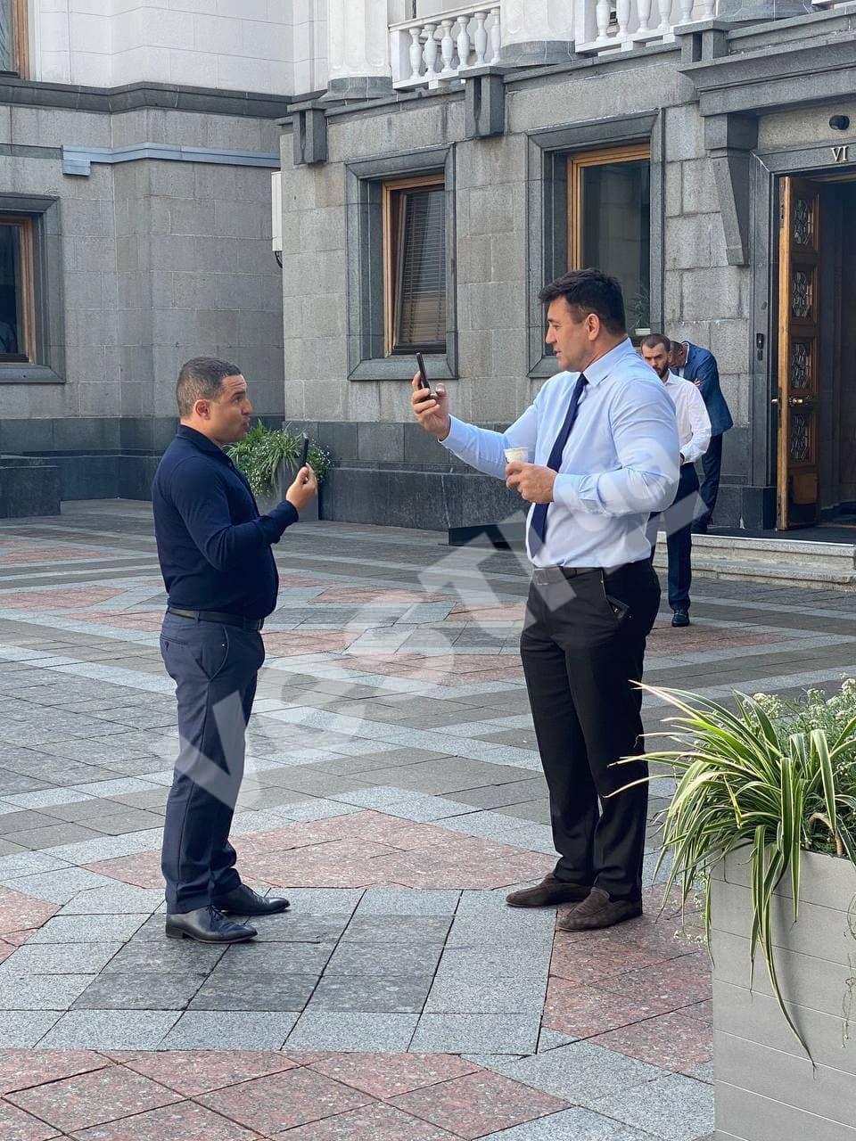 Тищенко и Куницкий устроили разборки в Раде / фото Вести