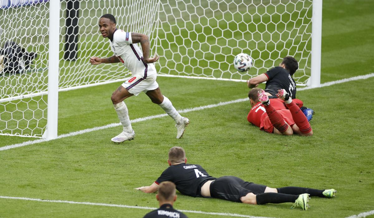 Рахім Стерлінг забив перший гол / фото REUTERS