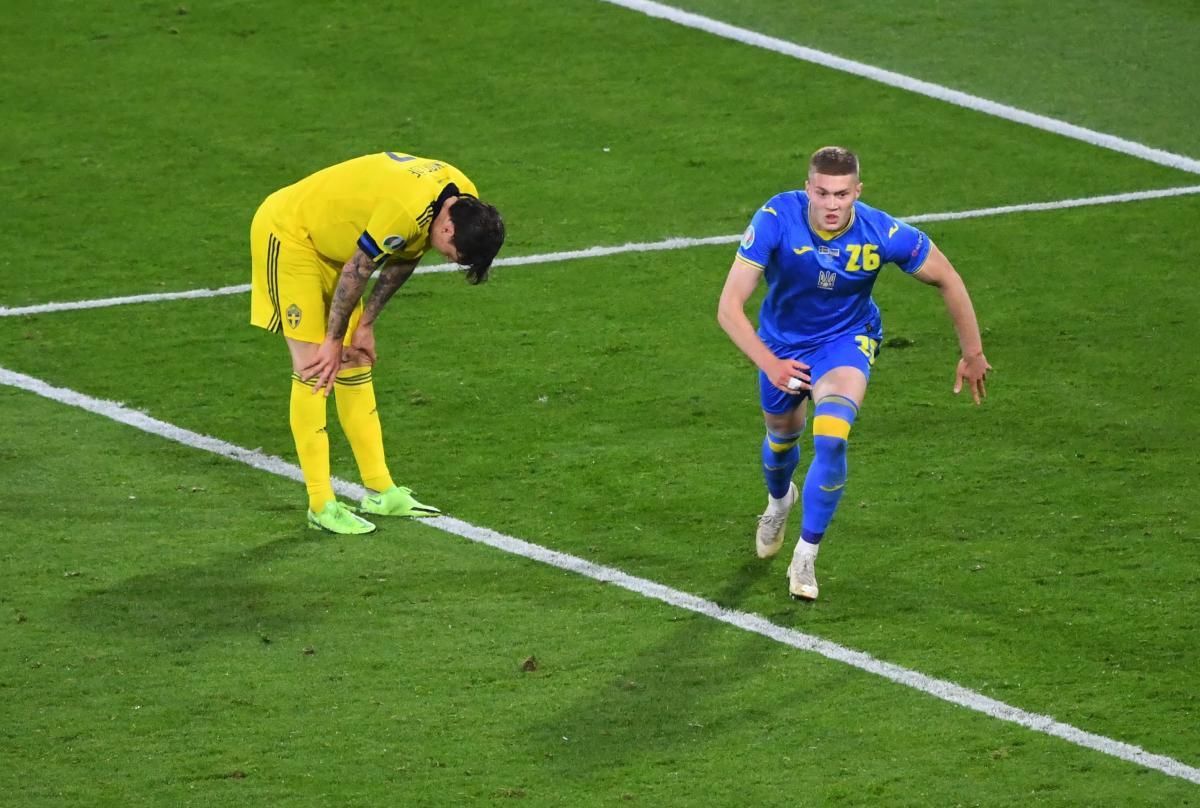 Артем Довбик забив переможний гол / фото REUTERS