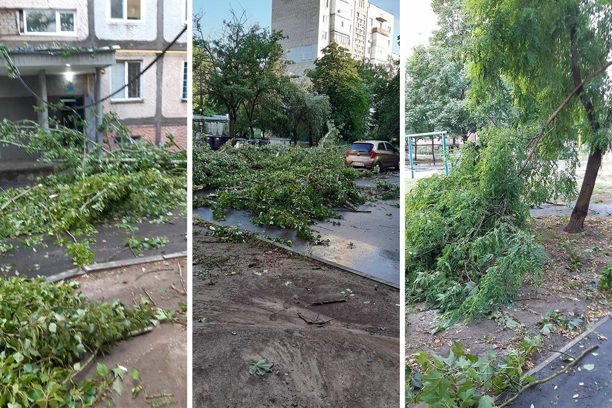 По Николаеву пронесся ураган / фото Наталья Горбенко