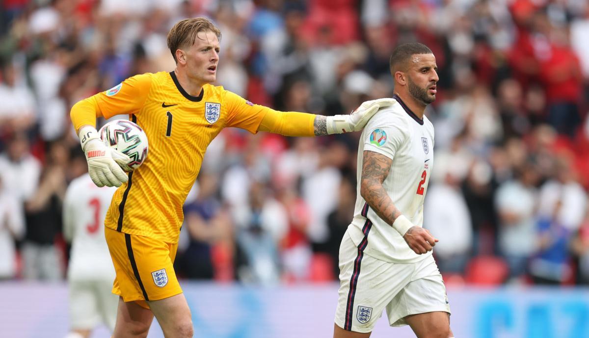 Сборная Англии на Евро-2020 еще не пропускала / фото REUTERS