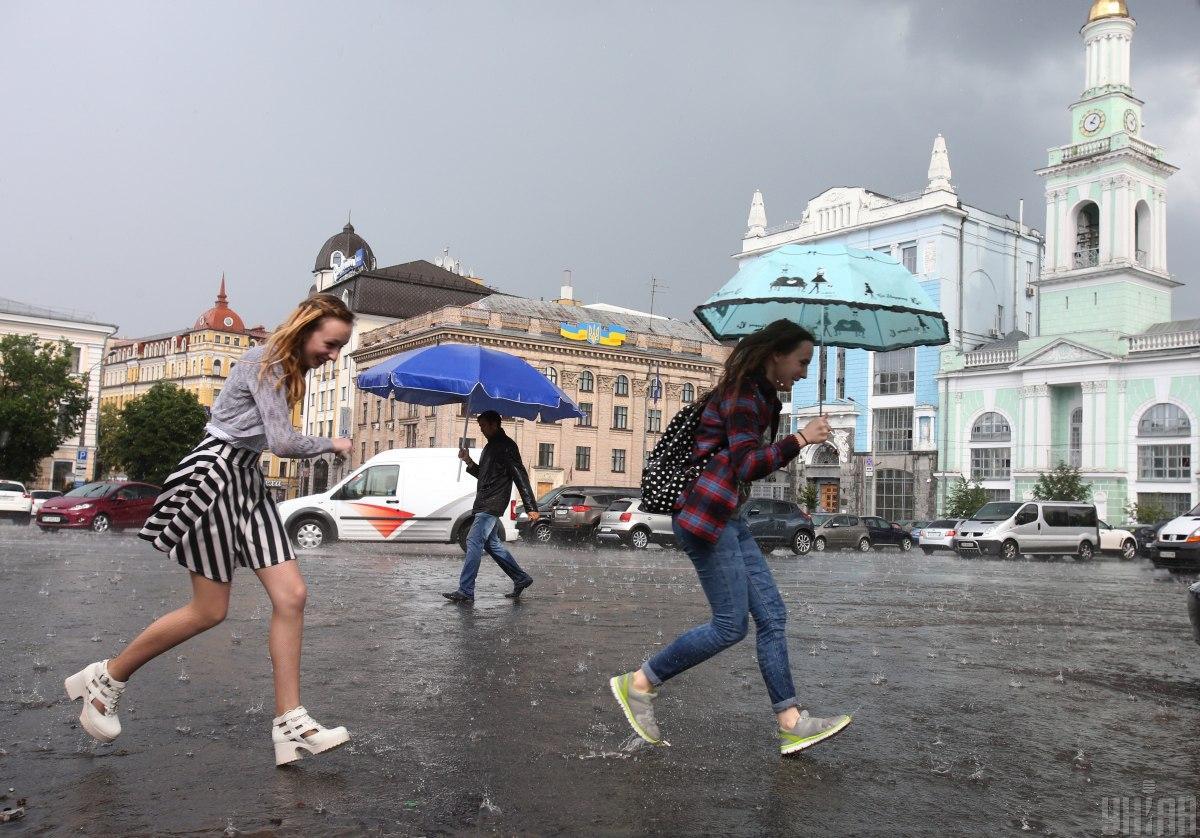 В Киеве ожидается гроза / фото УНИАН, Владимир Гонтарь