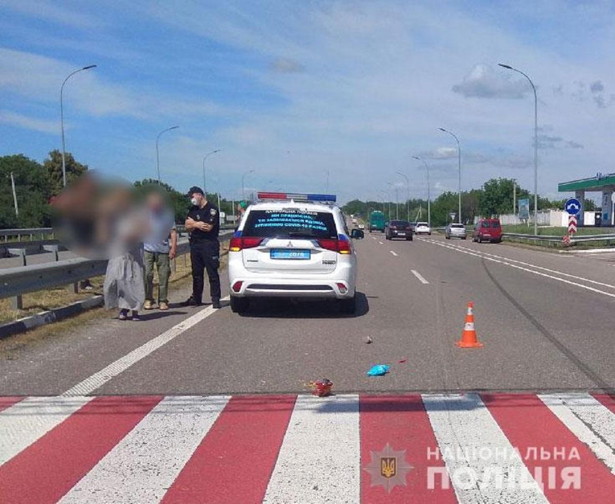 Водителя, сбившего ребенка на Полтавщине, задержали / фото Национальной полиции