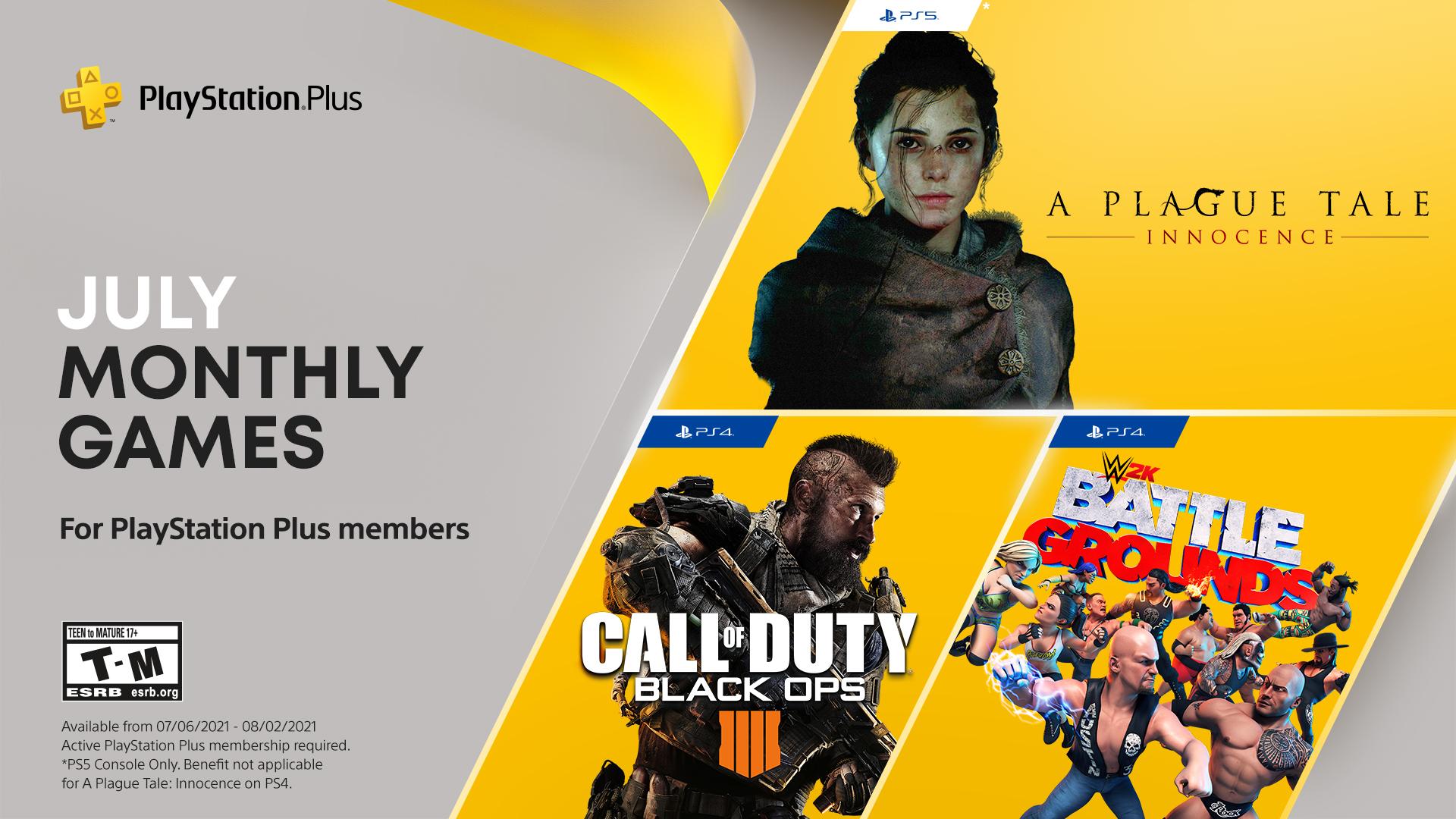 Липнева добірка ігор в PS Plus / фото twitter.com/PlayStation