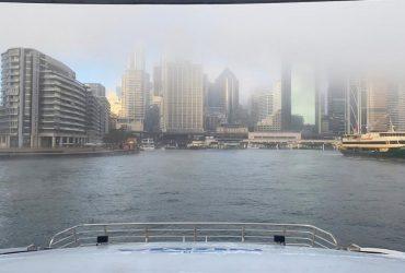 Словно в сказке: Сидней окутал густой туман (фото, видео)