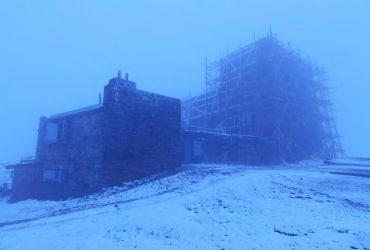 Карпати несподівано замело снігом (фото)