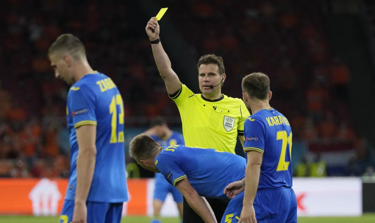 Фелікс Брих працював на матчі України та Нідерландів / фото REUTERS