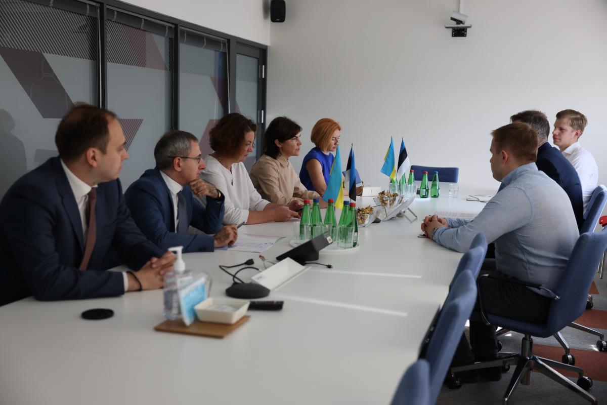 Генпрокурор Ирина Венедиктова находится в Эстонии с рабочим визитом / Офис Генпрокурора