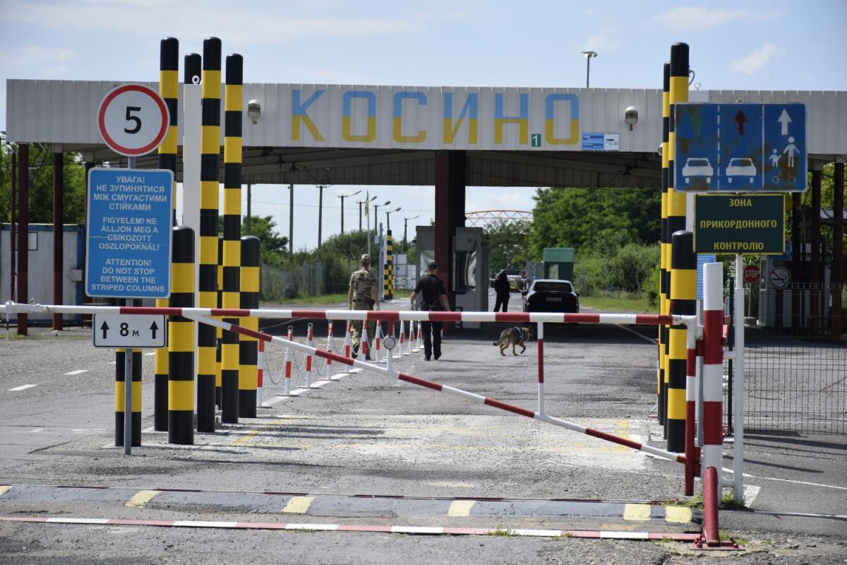 С украинской стороны все пункты пропуска на границе с Венгрией работают / фото dpsu.gov.ua