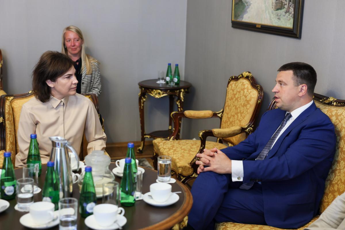 Ирина Венедиктова встретилась с Юри Ратасом / фото gp.gov.ua