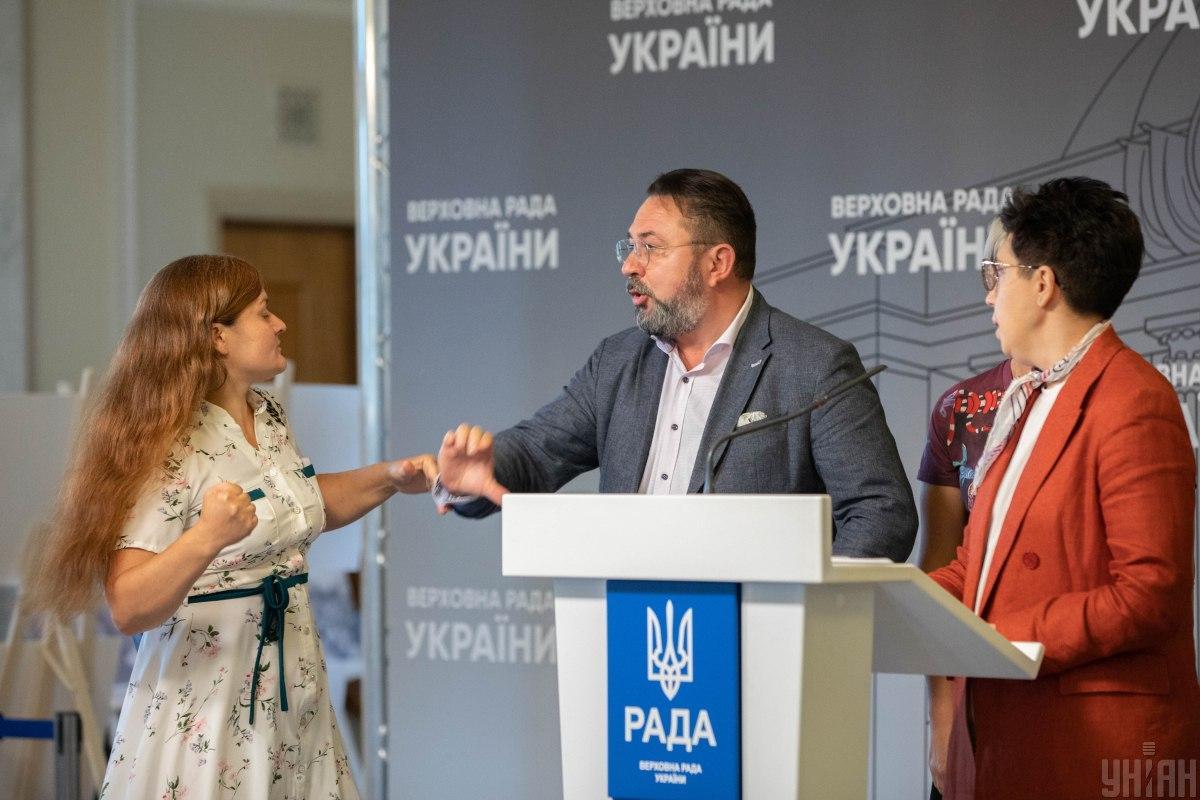 Ирма Крат Vs Никита Потураев / фото УНИАН (Александр Кузьмин)