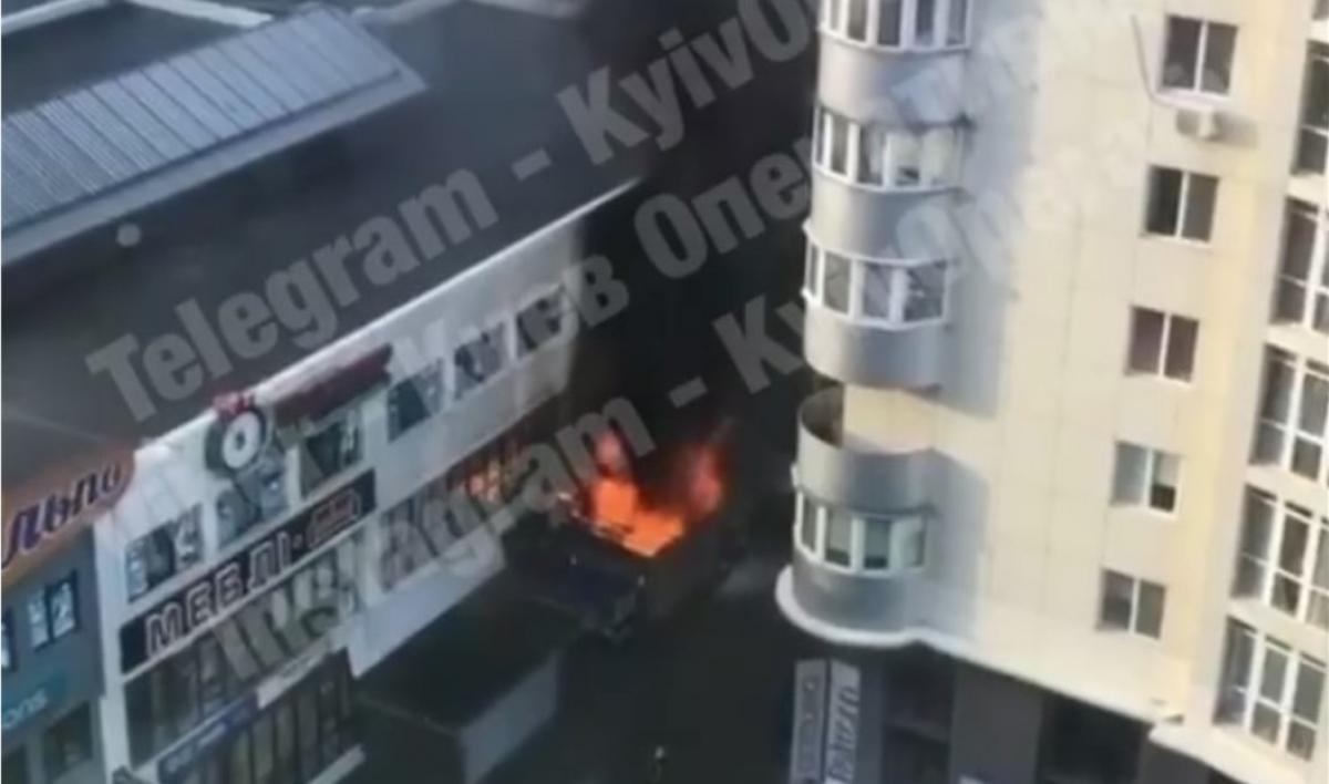 Причины пожара устанавливаются/ скриншот из видео