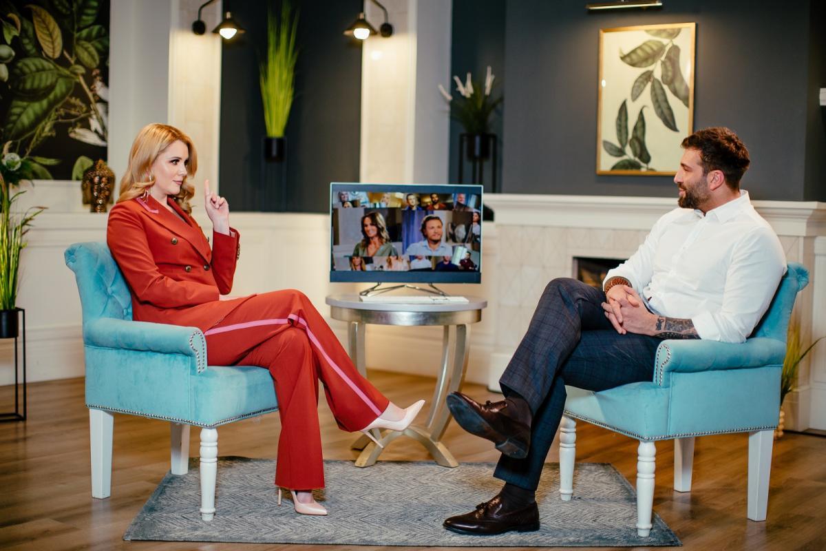 Ведущими седьмого сезона стали психолог Ирина Кириченко и телеведущий Даниэль Салем / фото пресс-служба 1 + 1