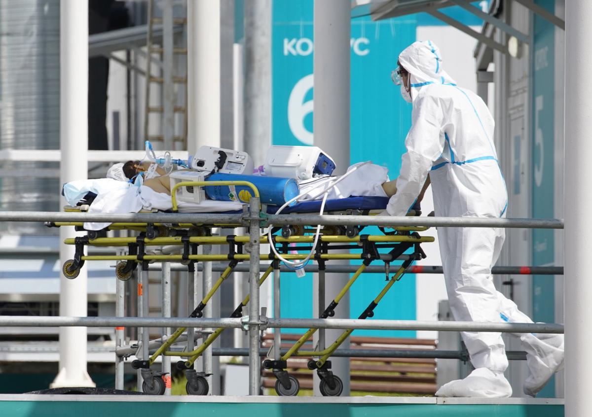 Коронавирус в Украине - последние новости / REUTERS