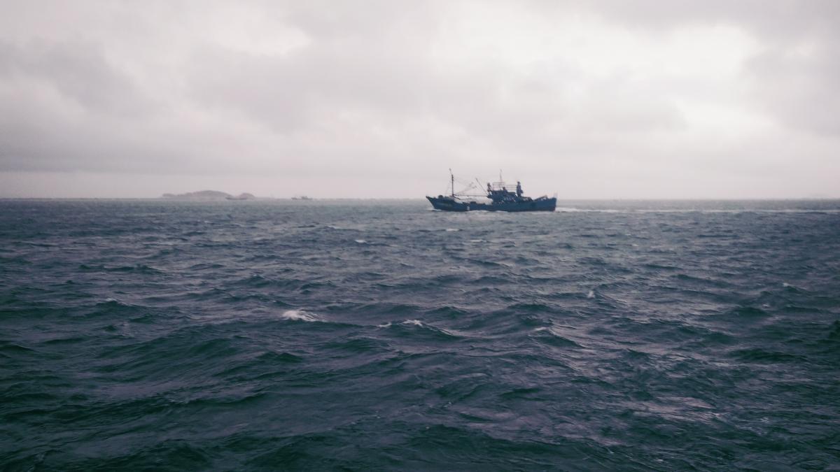 Рыболовное судно передало сигнал бедствия / фото: ua.depositphotos.com