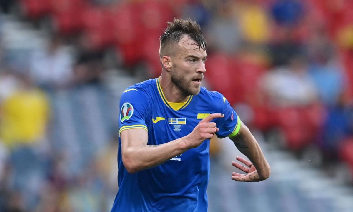 Андрей Ярмоленко - капитан сборной Украины / фото REUTERS