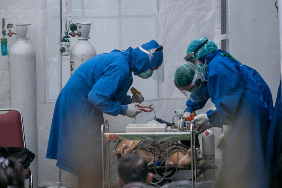 В Украине прогнозируют ухудшение ситуации с заболеваемостью / REUTERS