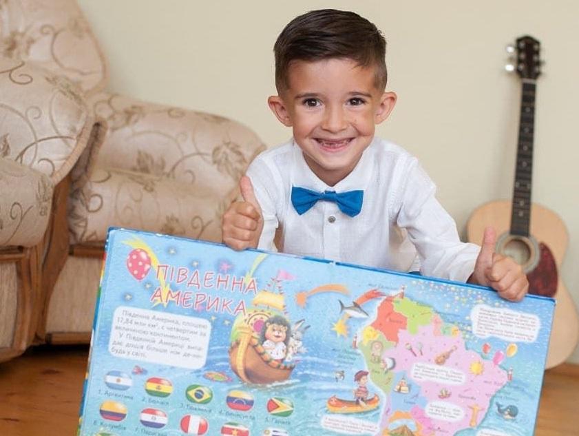 Достижение мальчика внесено в Национальный реестр рекордов Украины / фото Facebook Лана Ветрова