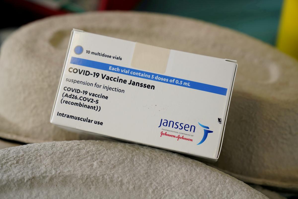 В Украине зарегистрировали вакцину Janssen / фото REUTERS