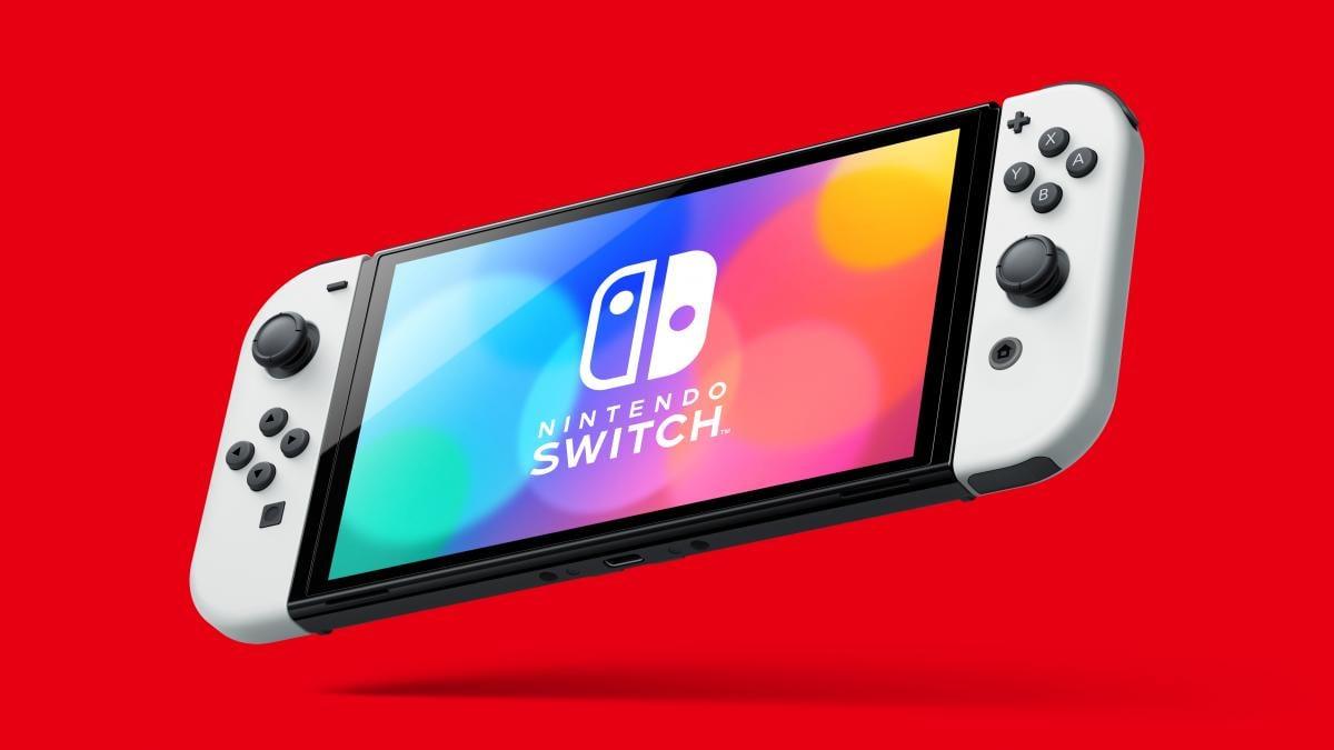 OLED-версия консоли Switch / фото Nintendo
