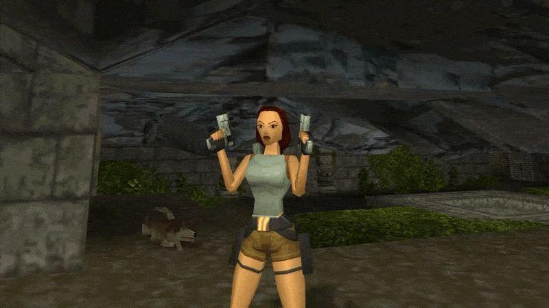 Та самая Лара Крофт - главных геймерский секс-символ 90-х / скриншот