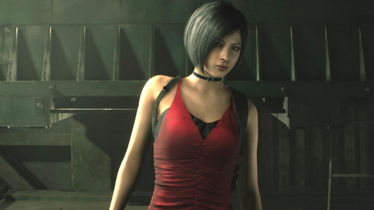 Ада Вонг в ремейке Resident Evil 2 / скриншот
