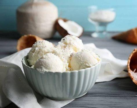 Оригинальный рецепт кососового мороженого / pinterest.ru