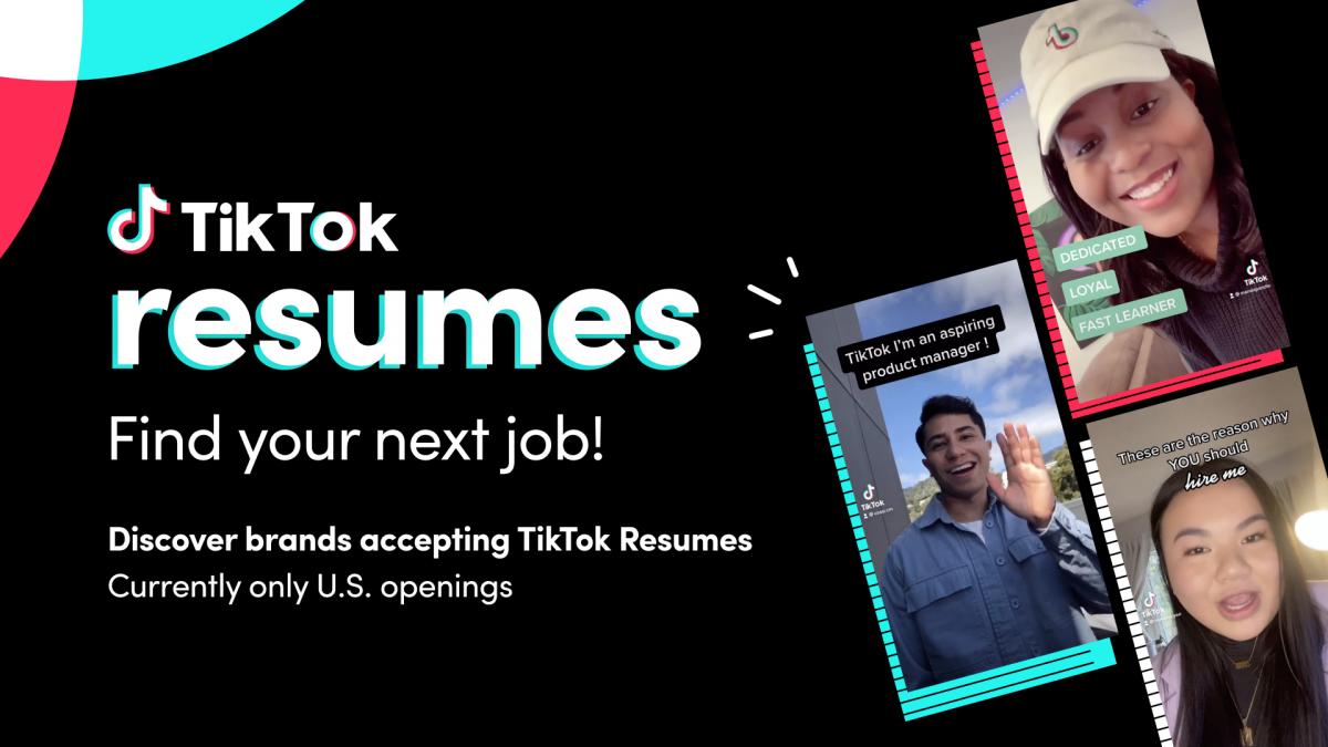 В США можно будет устроиться на работу через TikTok/ TikTok