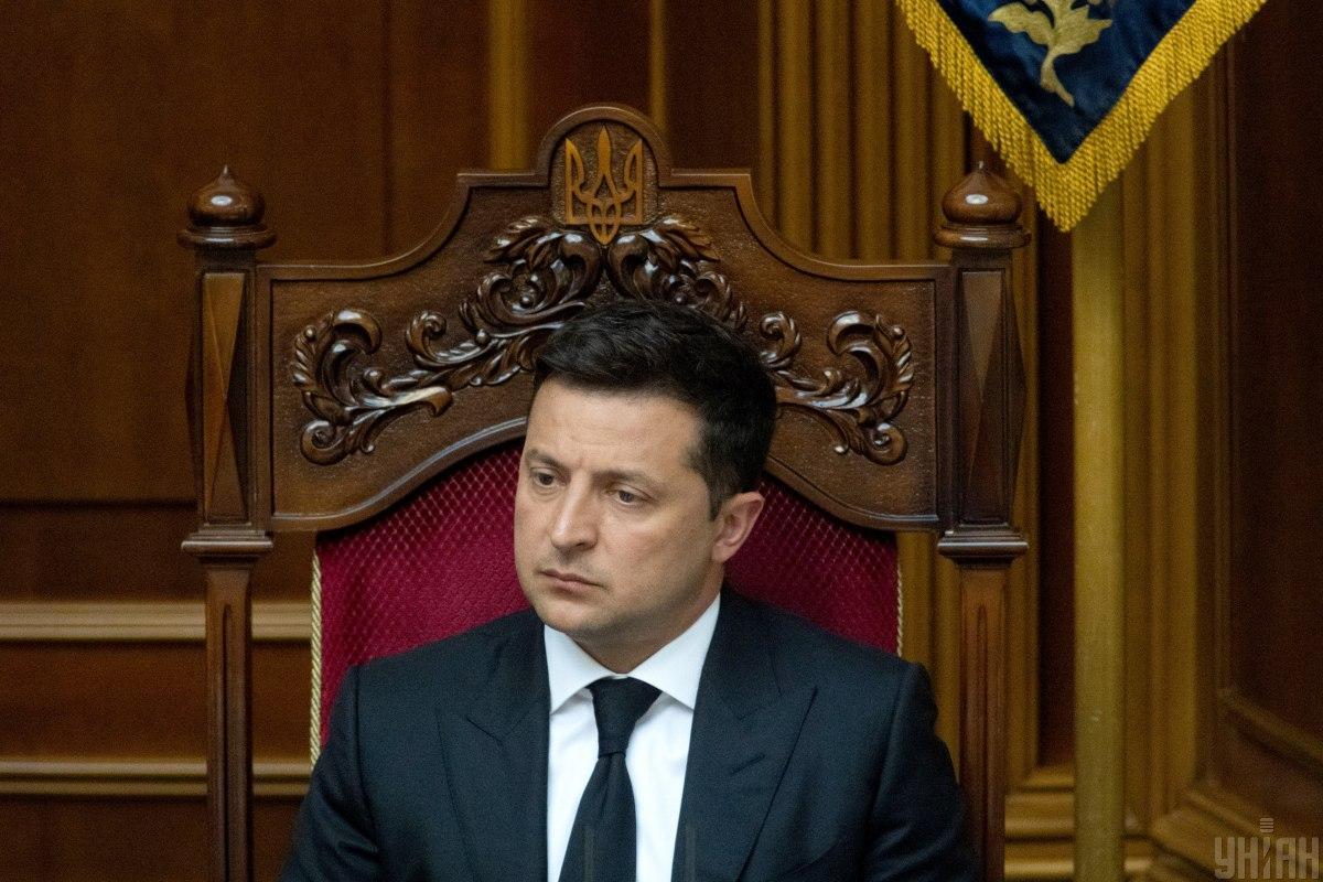 Зеленский внес свои правки в проголосованный законопроект / фото УНИАН