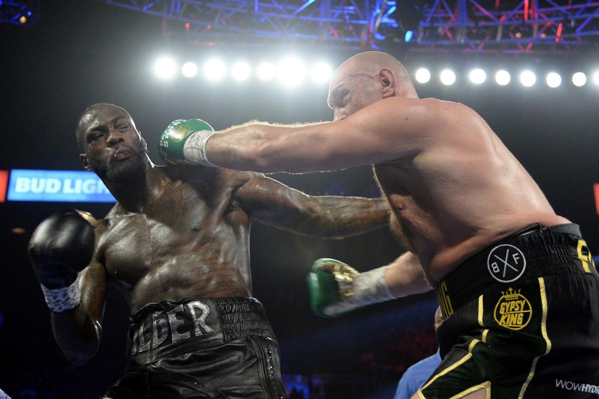 Тайсон Фьюри и Деонтей Уайлдер должны провести третий бой / фото REUTERS