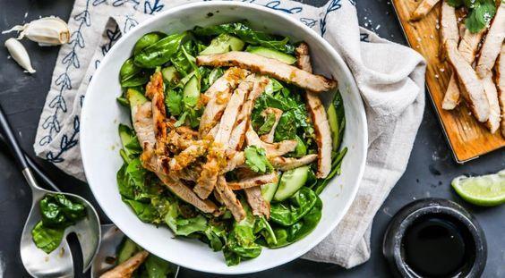 Салат з картоплею і бужениною / pinterest.ru