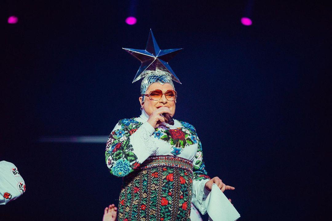 Сердючка порадовала публику своими хитами / фото Игорь Бабинец, Илья Колотый