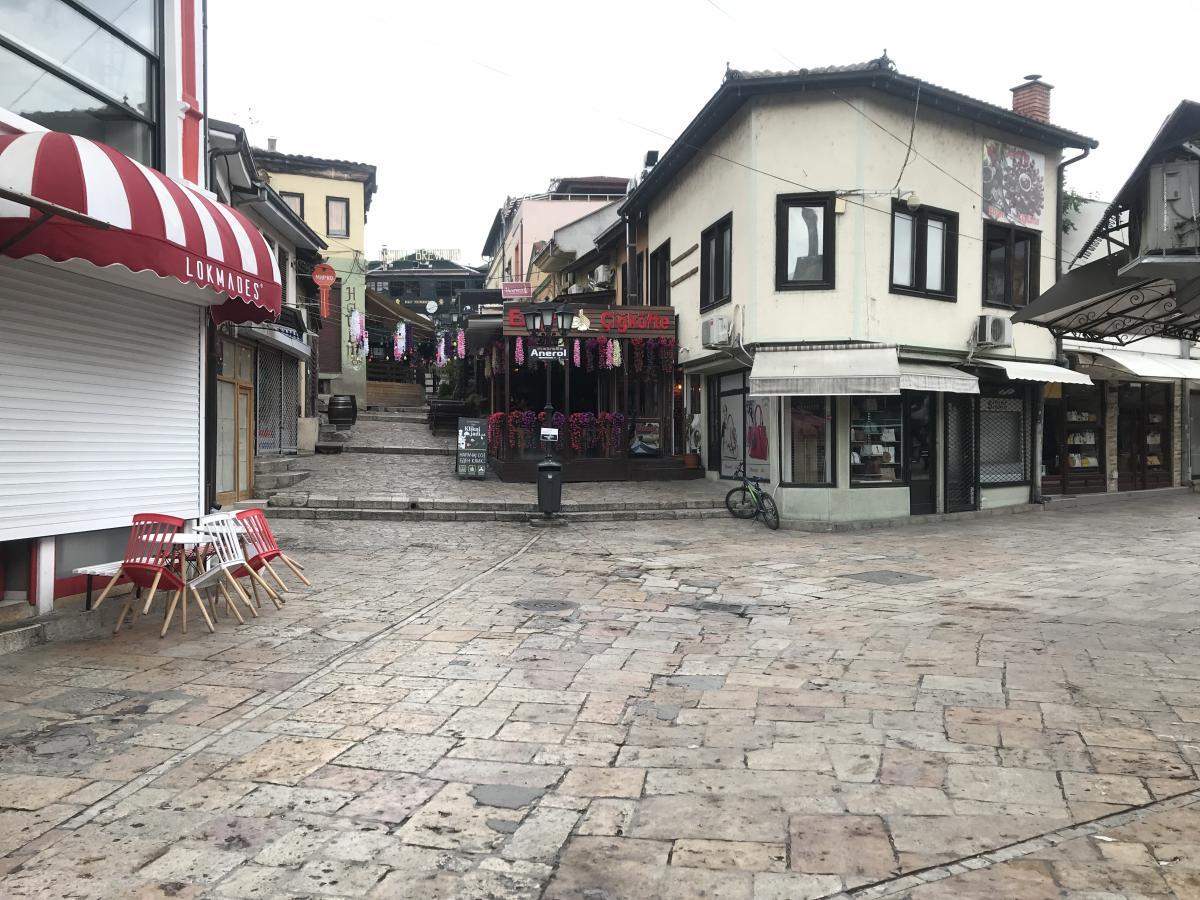 Турецький квартал у Скоп'є / фото Ольга Робейко, УНІАН