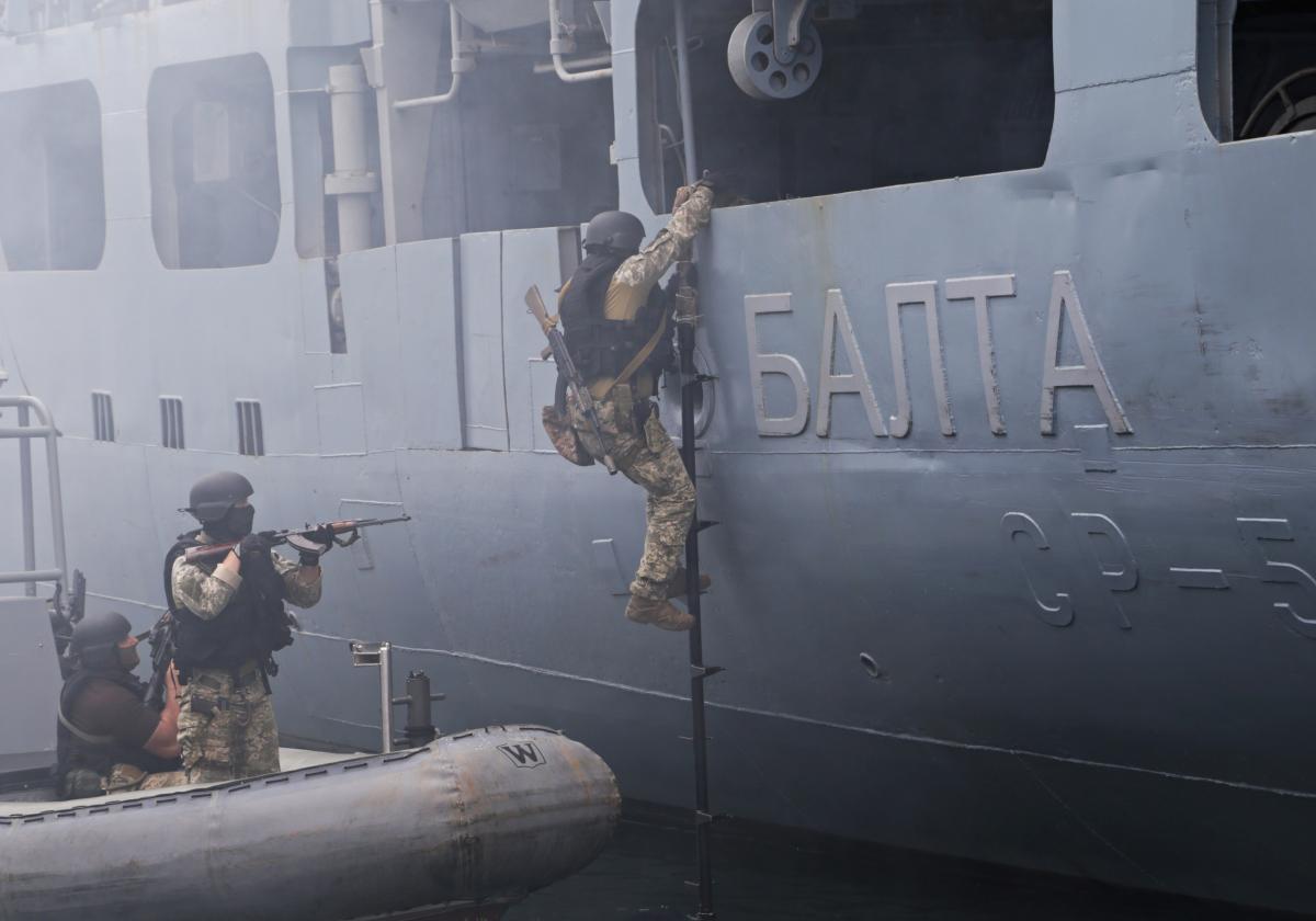 """28 июля в Одессе стартовали самые масштабные за свою историю международные учения """"Sea Breeze"""" / REUTERS"""