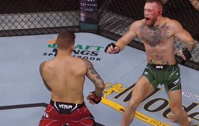 Макгрегор не справлся в бою с Порье / Скриншот с видео