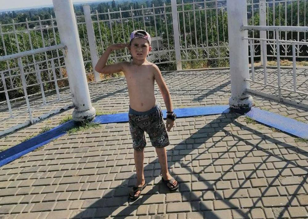 О пропаже мальчика 10 июля сообщила его мать / фото facebook.com/PoliceKremenchugregion