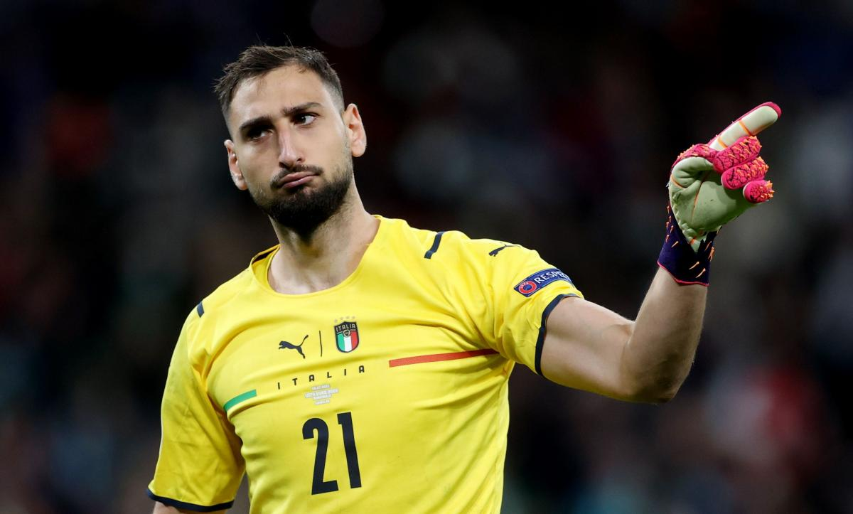 Голкипер сборной Италии Джанлуиджи Доннарумма / фото REUTERS