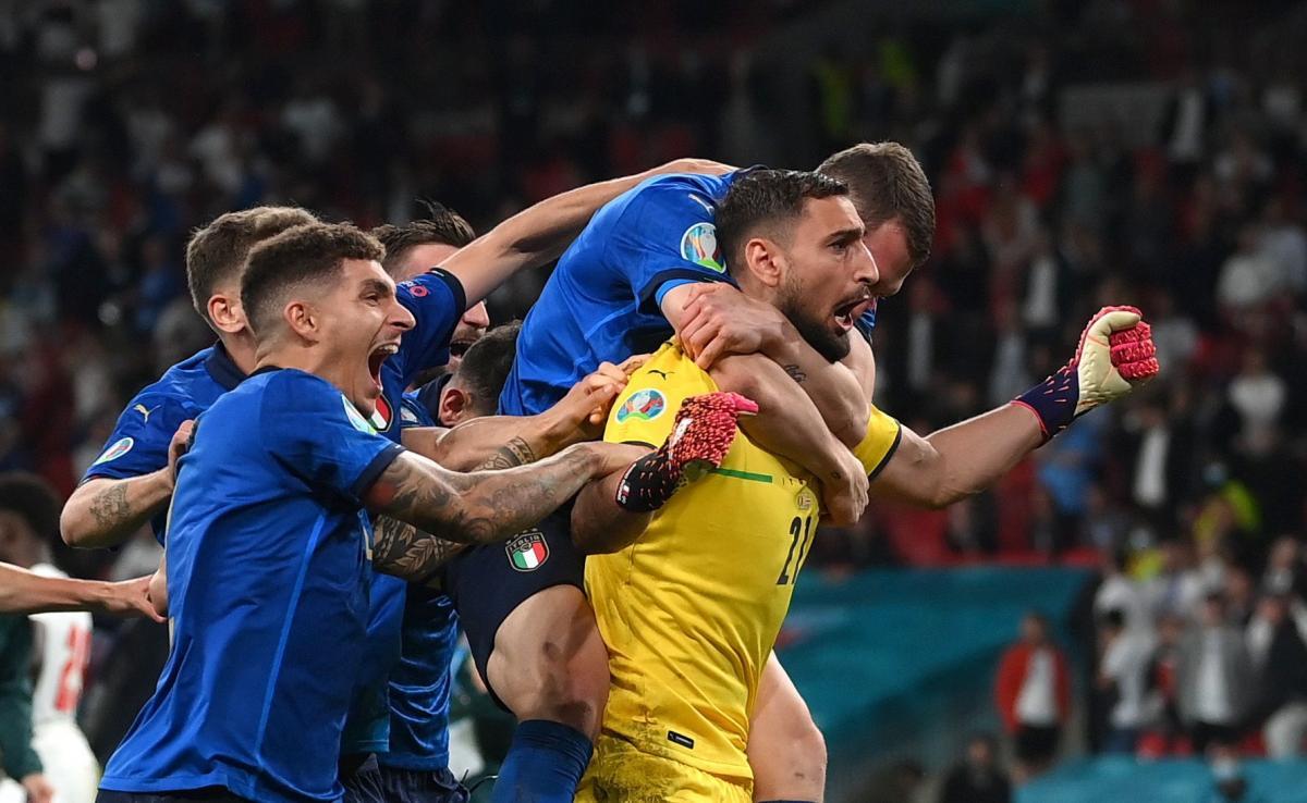 Игроки сборной Италии / фото REUTERS