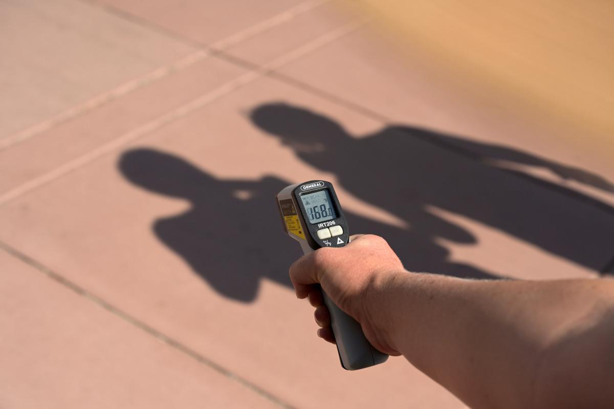 В Долине Смерти зафиксировали рекордно высокую температуру / фото REUTERS