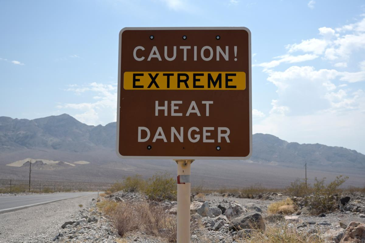 В штате объявлено чрезвычайное положение из-за жары / фото REUTERS