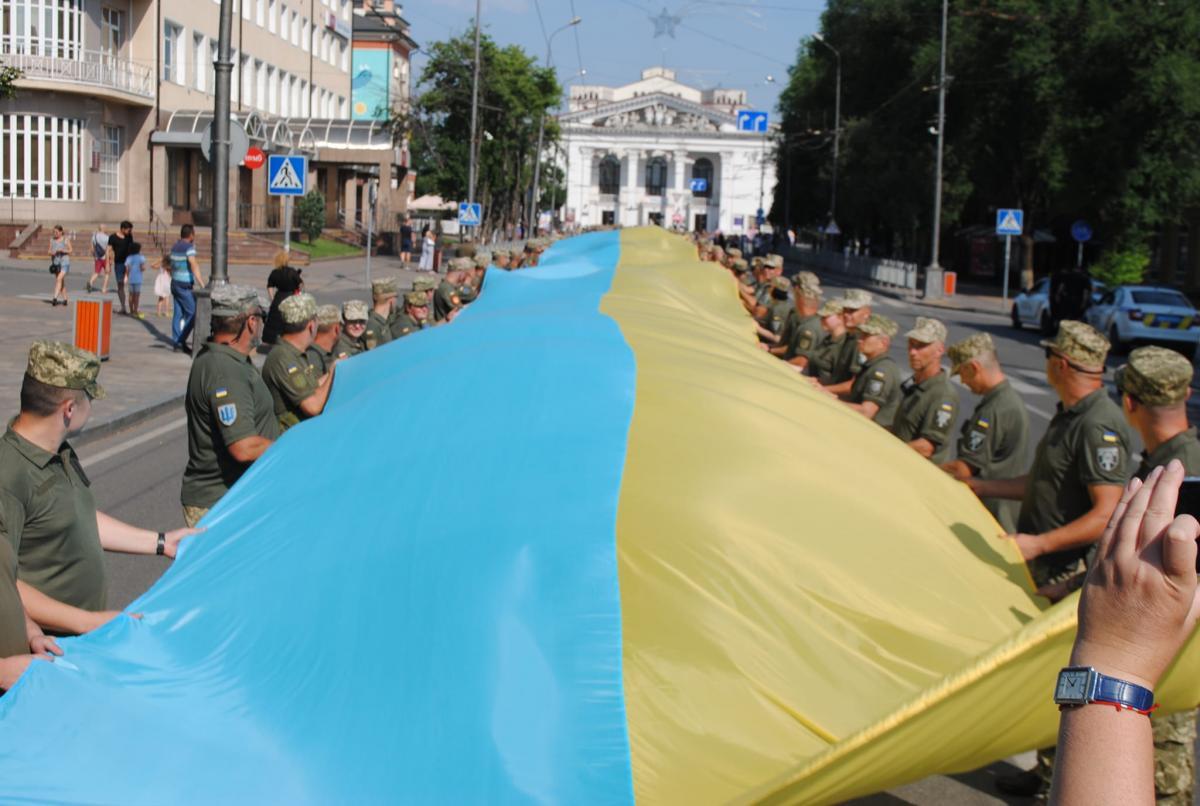 Украинские военные в Мариуполе установили рекорд / фото Facebook 128 ОГШБр ВСУ