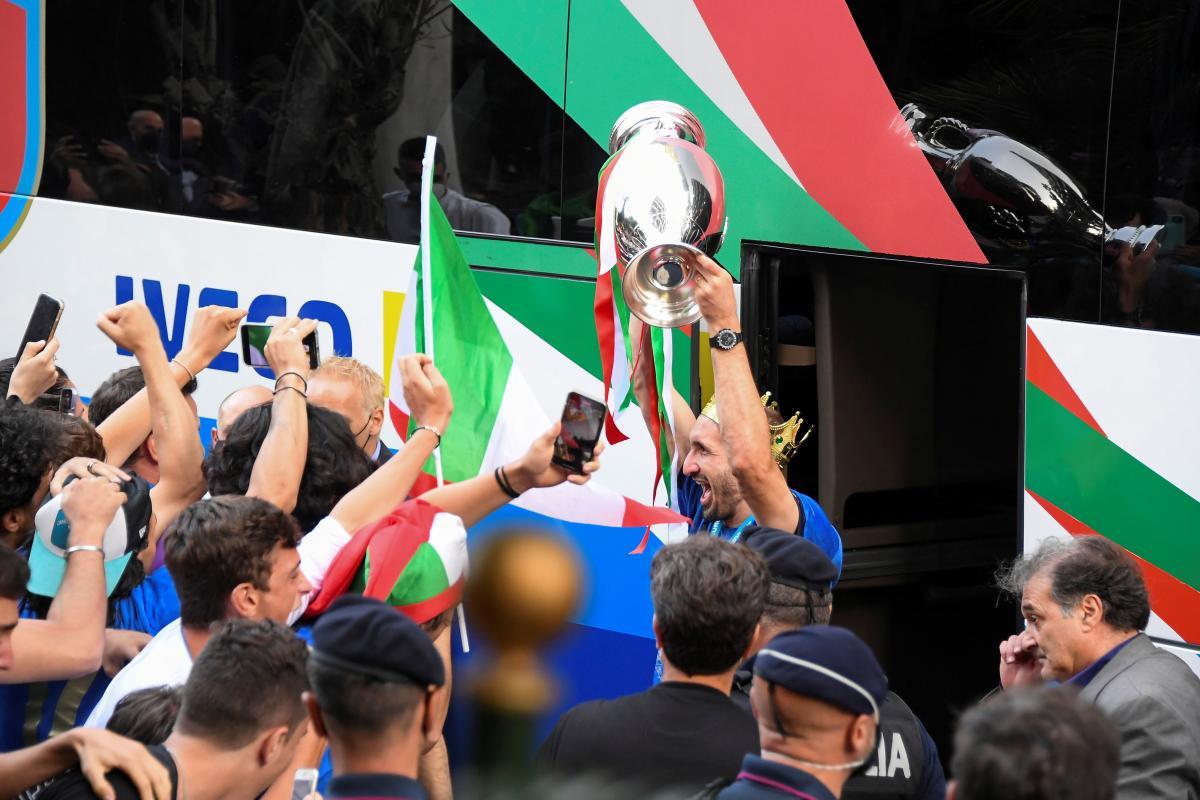 Сборная Италии в эйфории / фото REUTERS