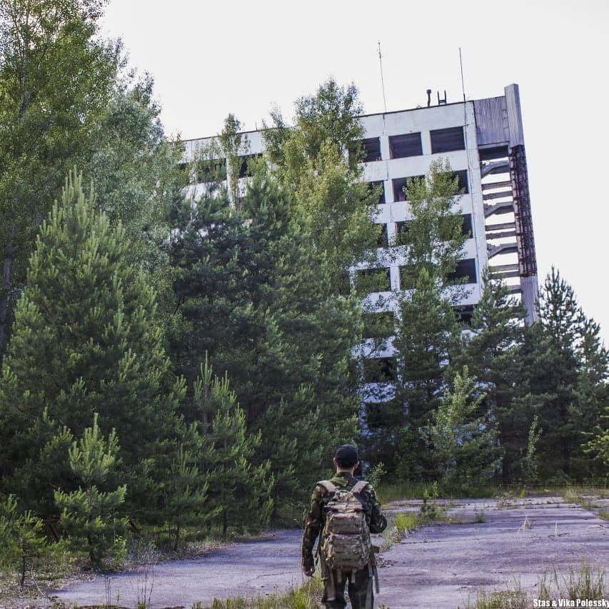 Станіслав Поліськийнедовго працювавофіційним гідом /фото інстаграм героя