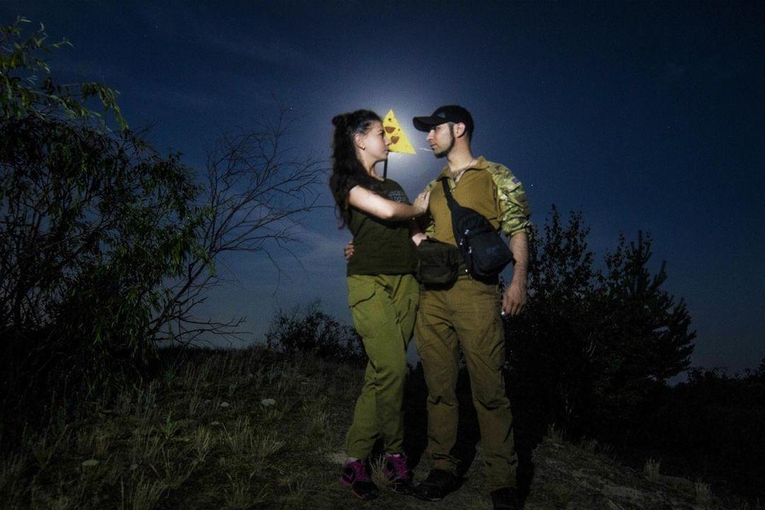 Поліський з дружиною зробили вже кілька проектів по реставрації приміщень у Зоні /фото інстаграм героя