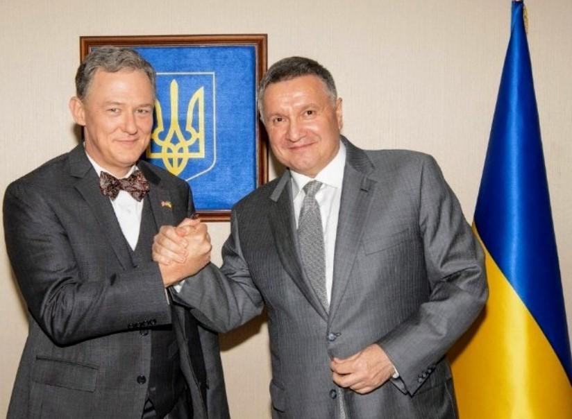 George Kent and Arsen Avakov / photo Avakov / Twitter